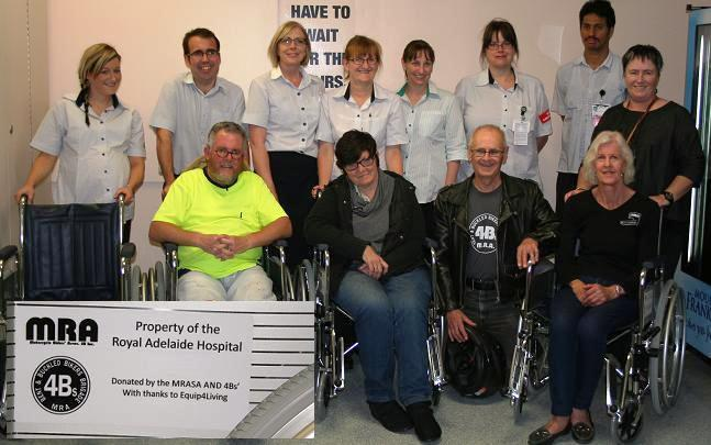 2014 Handover of Wheel Chairs for RAH